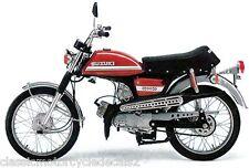SUZUKI AC50 DECAL SET TANK AND SIDE PANELS 1974