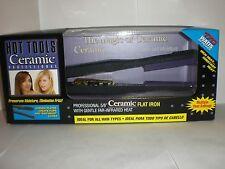 """5/8"""" Hot Tools Professional Ceramic Flat Iron """"N.I.B"""" model #1187"""
