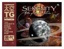 Serenity - Firefly Atlas of the Verse - 26 Kunstdrucke Atlas neu - Rarität