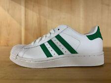 best service f7d32 3b6b3 Adidas Superstar 2 C ejecutar Blanco Verde Cuero Preescolar PS 1-2 y G09868