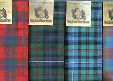 Scarf Clan Robertson Tartan Scottish Wool Plaid