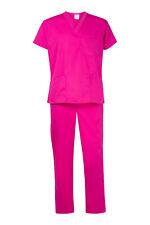 NEW Pink Scrub Set - Medical Surgical Nursing Vet Scrubs - FREE ship from MEL