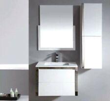Bathroom Wall Hung Soft Close 2 Draw Vanity /Basin Ceramic Top 2Pac 750Wx450mm