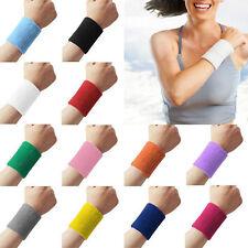 Sweatbands Terry Cloth Cotton Wrist Sweat Band Sports/Yoga/Workout/Running