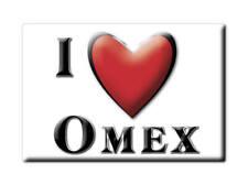 MAGNETS FRANCE - PICARDIE SOUVENIR AIMANT I LOVE OMEX (HAUTES PYRÉNÉES)