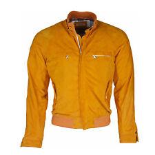 FIORONI Blusa Uomo Pelle Scamosciata Uomo Arancione (origin.