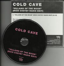 COLD CAVE Villains RICH EDIT PROMO DJ CD single MUSE