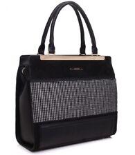 Bessie Tote Bag in TAN or BLACK - BD3107