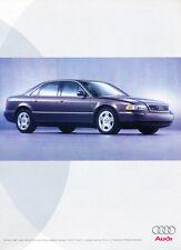 1999 Audi A8 - Shout - Classic Vintage Advertisement Ad D185