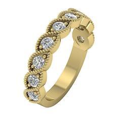 Genuine Diamond I1 G 1.00 Ct Engagement Wedding Ring Prong Set 14K Yellow Gold