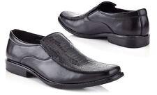 Brand New Original Marco Vitale Collezione Men's Croc Embossed Dress Shoe