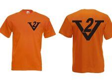 V2 Maglietta Divertente ottima qualità für alle MOTOCICLISTA caffè AUTO BOPPER
