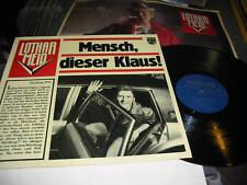 Lothar Meid (Amon Duul II) LP Mensch, dieser klaus! '75 rare prog kraut embryo !