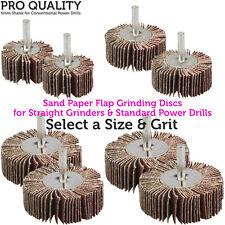 Grinding/Sanding Flap Discs/Wheel for Power Drills -6mm Shank-Wood/Metal/Plastic