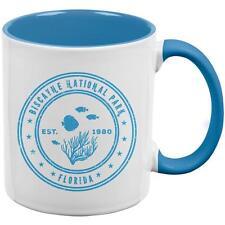 Channel Island National Park Vintage Aqua Handle Coffee Mug