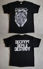 "Exhumed T-shirt ""Casket crusher"" black NEW (XL)"