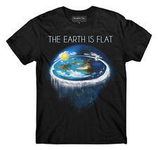 Flat Earth t-shirt, Earth is flat, Firmament, Sheol, NASA Conspiracy, New World