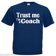 Coach Adults Mens T Shirt 12 Colours Size S - 3XL