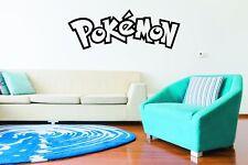 Nintendo Pokemon Wall Art Logo Sticker Decal