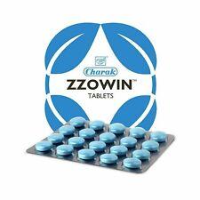 Charak ZZOWIN Tablets - Sleep Disorders - Herbal Pills | 20 tabs