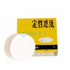 Pack100 Circles 7-18cm Diameter 10-25 Micron Ashless Qualitative Filter Paper