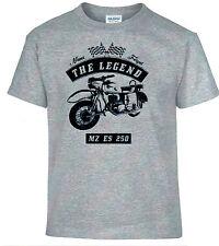T-SHIRT, MZ ES 250 , bicicleta, MOTO, Oldtimer, youngtimer