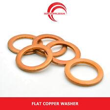 """Flat Copper Washer - 1/4"""" BSP"""
