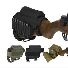 Jagd Tactics Buttstock Cheek Rest mit Ammo Carrier Case Holder Für .300 .308