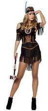 Indianerinnenkostüm schwarz Damenkostüm Faschingskostüm Karnevalkostüm