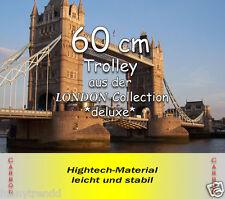 60cm POLYCARBON  Hartschale Trolley Koffer Trolly LONDON deluxe 74 L