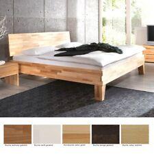 Massivholzbett Wallis Buche Farbe und Größe nach Wahl Futonbett Doppelbett Bett