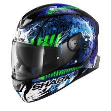 SHARK SKWAL 2 - Switch rider 2 KBG HELMET motorcycle full face helmet - Blue ZE
