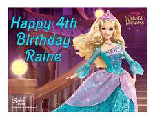 Barbie edible party cake topper cake image sheet