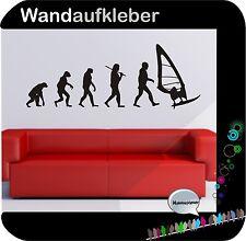 Surfen Windsurfen Windsurfer Surfbrett Wandtattoo Sticker Folie Aufkleber  W466