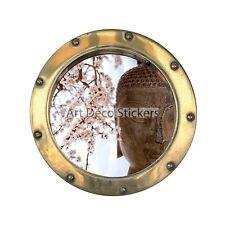 Stickers hublot déco Bouddha 1435