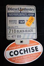 Diesel Jeans Cochise 575 black schwarz neu Karottenschnitt 100% Baumwolle
