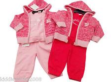 Bébé filles 3 pièces rose costume de jogging sueur haut et pantalon Vêtements 6