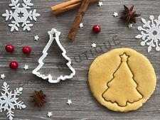 Tree Xmas Cookie Cutter 01 | Christmas | Fondant Cake Decorating | UK Seller