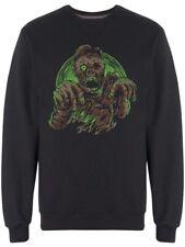 Green Zombie Graphic Men's Sweatshirt -Image by Shutterstock