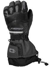 Castle X Factor Mens Snowmobile Gloves Dark Gray