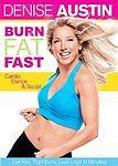 Burn Fat Fast - Cardio Dance & Sculpt, New DVD, Denise Austin, Cal Pozo