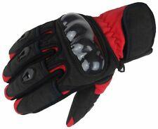 Bangla Motorradhandschuhe Motorrad Handschuh kurz rot schwarz XS S M L XL XXL
