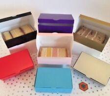 Wedding Party Favours  Cake Slice boxes - Various ~ Colours~Quantity 100x60x30mm