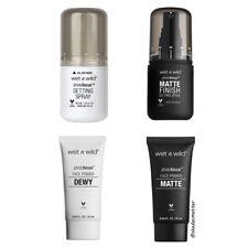 Wet n Wild Photo Focus Face Primer or Spray (Matte or Dewy) - Pick 1 - B2G1F
