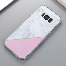Marbre Motif et Acrylique Antichoc Coque Housse Etui Pour Samsung Galaxy S8 S9+