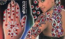 Folkloreschmuck Uhren & Schmuck Bollywood Selbstklebend Handschmuck Hand Body Sticker Mehndi Bindis Henna