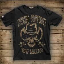 "DYSTROY Skull & Bones PREMIUM Herren T-Shirt ""PSYCHO COWBOYS"" / Regular Fit -"