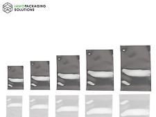 Sellado térmico de bolsas de Mylar de calidad alimentaria, bolsa de la bolsita, Plata Brillo