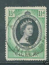 Nigeria Coronation 1953 used