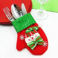 Christmas Gift Bag Candy Bag Merry Christmas Cutlery Bag Christmas Decor T